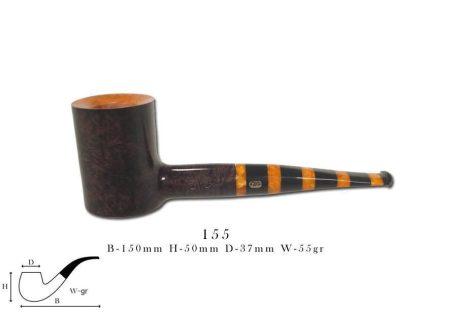 Chacom MAYA black & orange 155