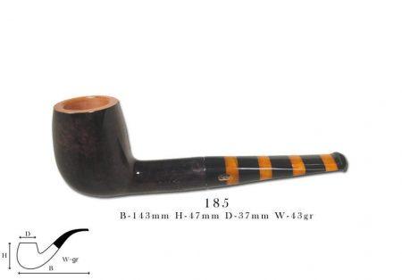 Chacom MAYA black & orange 185