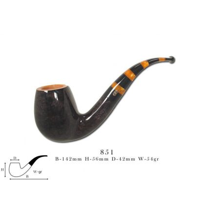 Chacom MAYA black & orange 851