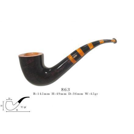 Chacom MAYA black & orange 863