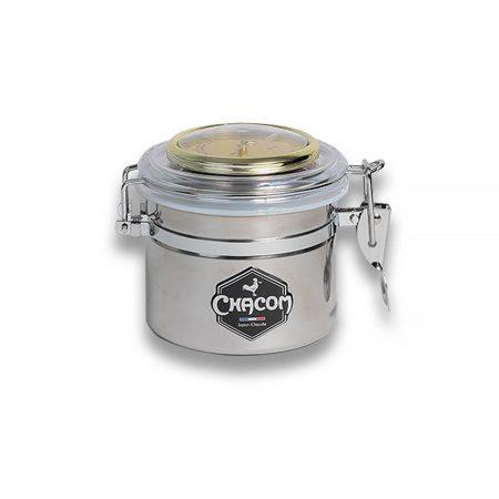 Chacom inox dohánytartó + ajándék hydrostone kő