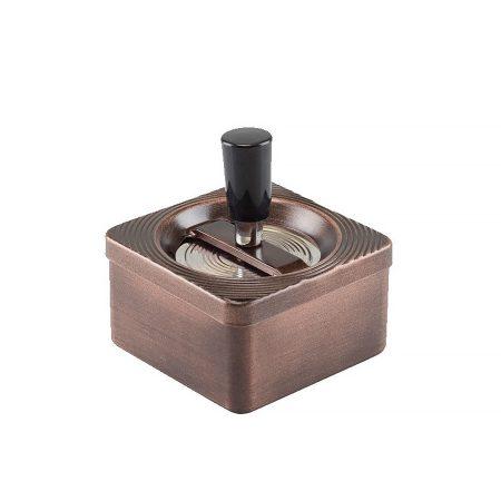 Forgó  réz hamutartó (négyzet alakú) TAB-06027