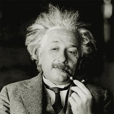 Albert Einstein - német elméleti fizikus