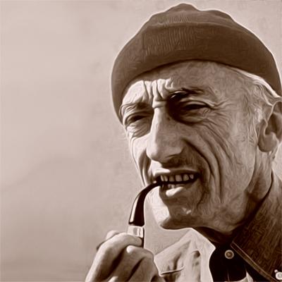 Jacques-Yves Cousteau - francia tengerkutató tudós