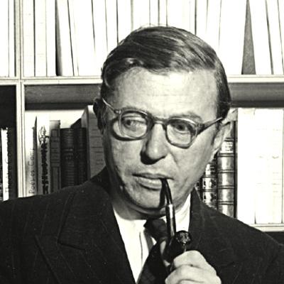 Jean-Paul Sartre - francia regényíró, filozófus